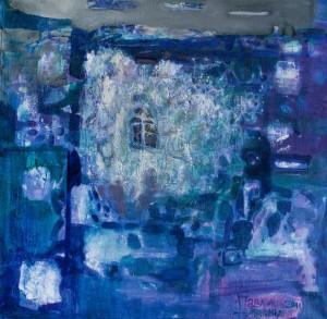 Різдвяна ніч, 2011, п.о., 90х90