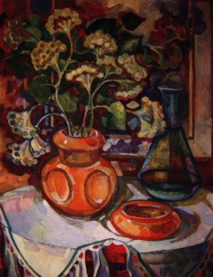 Still life with Flowers, 2000, oil on cardboard, 70x60.jpg