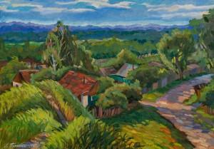 'Morning In Sedniv Village', 2005