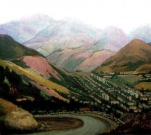 Горіс (Вірменія), 1990, 60х70