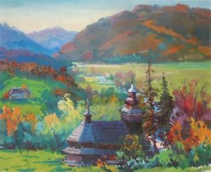 Chornoholova village