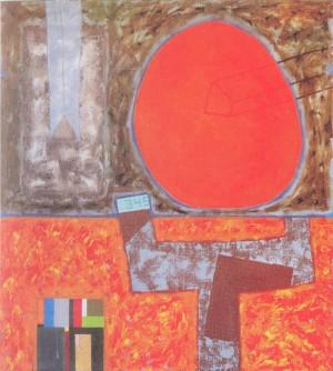 Сонячне місто, 2006, п.o., 90х80