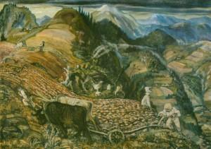 На власному грунті, 1942, п.о. 90х120