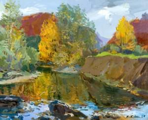 Тиха осінь, 2006, п.о., 60х70