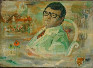 Portrait Of A Psychiatrist (F. Chekan), from the photo archive of Y. Nebesnyk, 1970s, 80x100