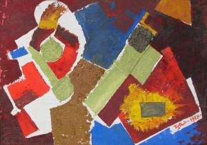 'Фактури', 1958, 38х53