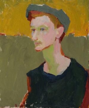 Veronika Syrotkina. Portrait. 2017. 50х60