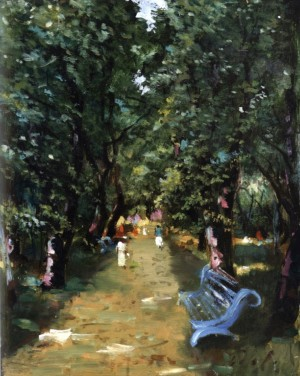 In The Park, 1997, 50x40