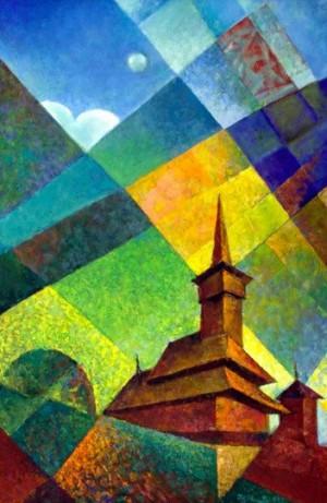 'Церква в Шохаті', 2011, 100х70