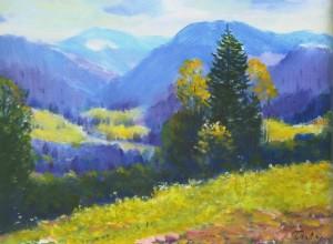 Ужоцький перевал, 1984, 50x70