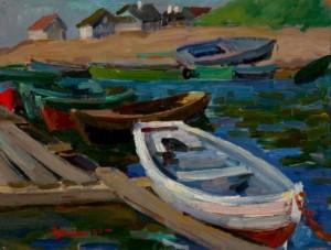 Boats', 1960, 26x30