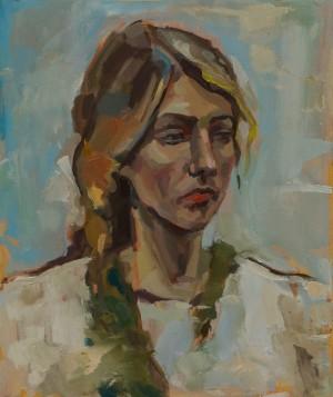 Zorian Sush. Portrait. 2017. 50x60