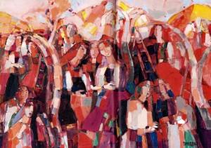 Apple Garden, 2007, oil on canvas, 50x70
