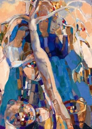 Apple Tree, 2006, oil on canvas, 70x50