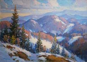'The Winter Carpathians'