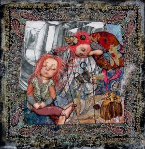 Little Muse For Lewis Carroll, 2004, 51x50