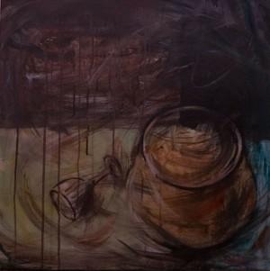 Натюрморт, 2016, п.акр., 60х60
