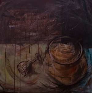 Still Life, 2016, acrylic on canvas, 60х60
