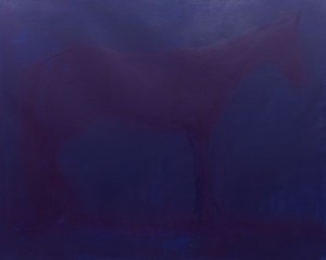 A. Kryvolap Horse. Reflex,  2017, c.о. 160х200