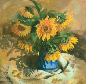Соняшники, 2006, п.о., 80х80