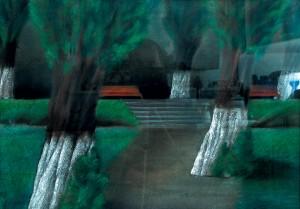 Тополина алея, 1985, п.паст., 60х64