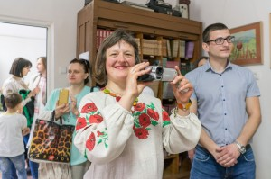 PERSONAL EXHIBITION OF OLHA AEGERTER (RUSHCHAK) IN UZHHOROD
