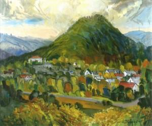Замкова гора, 2007, п.о. 70х80