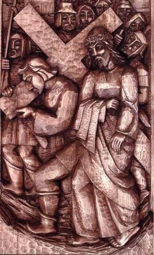 Simon Helps Jesus to Carry his Cross, 1995