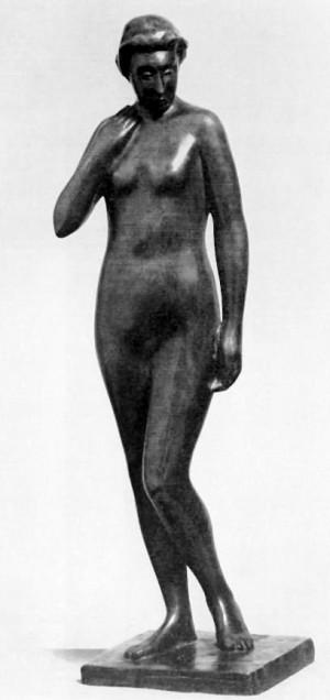 Оголена жінка