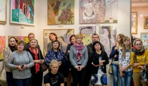 "EXHIBITION OF WORKS OF THE TRANSCARPATHIAN ARTISTS ""VERETA"" WAS OPENED IN RIVNE"