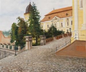 Oleksandr Tykhonchuk. Cityscape. 2016