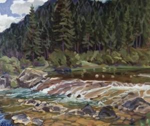 Перекат, 1999, к.о., 60х70