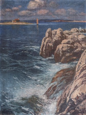 The Sea, 1930, oil on canvas, 63,3х48,3