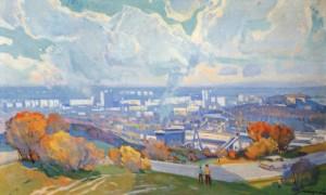 Нове місто, 1980, п.о. Дер. 85х140