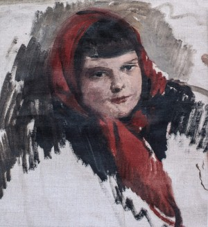 Morika, 1962, oil on canvas, 30x32