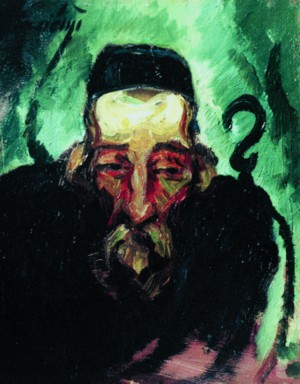 Portrait of the old Jew, 1930