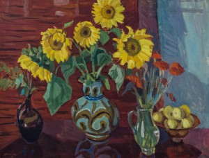 Sunflowers, 1981