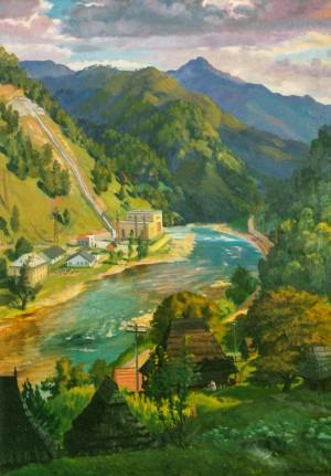 Нижньобистрянська ГЕС, 1958, п.о. 150х104