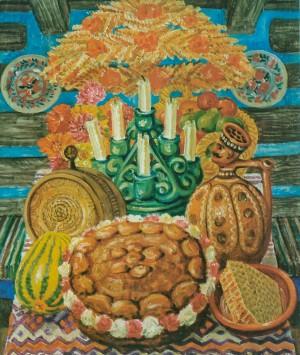 Новий хліб, 1975, п.о. 80х69