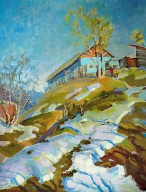 Somewhere near Rakhiv, 2010, 70х50