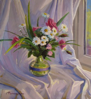 Flowers, 2015, oil on canvas, 70х60