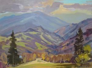 Синевірський перевал, 2014, к.о., 60х80