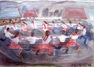 Запальний танець, 2006, п.о., 70х100
