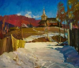 Дуб В. Дерев'яна церква