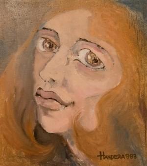 A Redhead Woman, 1993