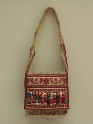 Сумка жіноча, 2011, текстиль, муліне, хрестик, змережування