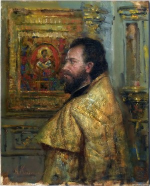 Father Fedor, 2010, 28x21