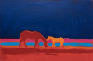 A. Kryvolap Horses, 2008, c.о. 100х150