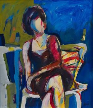 'Сидяча фігура', 2004