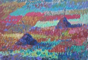Autumn 2013 acrylic on masonite 60x50
